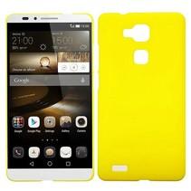 Geel hardcase hoesje Huawei Mate 7