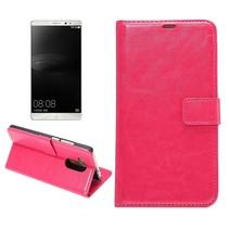 Roze Bookcase Hoesje Huawei Mate 8