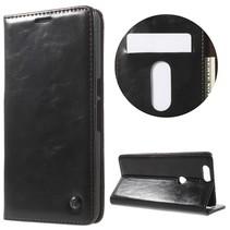 Zwart Bookcase Hoesje Huawei Nexus 6P