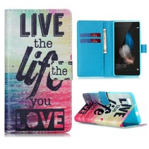 Life quote Bookcase hoes Huawei P8 Lite