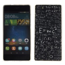 Schoolbord formules TPU hoesje Huawei P8 Lite