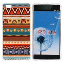 Azteken TPU hoesje Huawei P8 Lite
