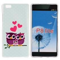 Uilenfamilie TPU hoesje Huawei P8 Lite
