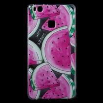 Watermeloenen TPU Hoesje Huawei P9 Lite