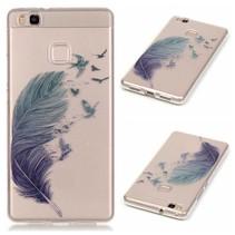 Veer en Vogels TPU Hoesje Huawei P9 Lite