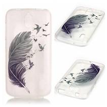 Veer en Vogels TPU Hoesje Huawei Y625