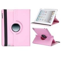 Lychee roze 360 graden hoes iPad 2 / 3 / 4