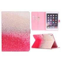 Roze spikkels flipstand hoes iPad Air 2