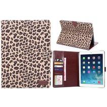 Luipaard flipstand hoes iPad Air 2