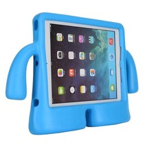 Blauwe kidsproof eva schuim stand hoes iPad Air 2