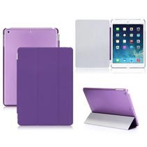 2-in-1 paarse cover hoes iPad Air