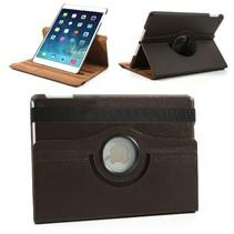 360 graden bruin faux lederen hoes iPad Air