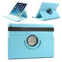 360 graden blauw faux lederen hoes iPad Air