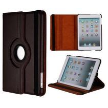 Bruine 360 graden hoes iPad Mini / 2 / 3