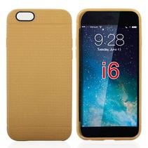 Goud mesh TPU hoesje iPhone 6 / 6s