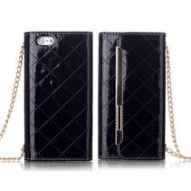 Stijlvolle handtas wallet case zwart iPhone 6 / 6s