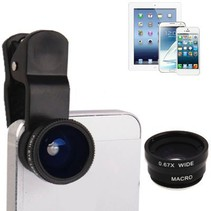 3-in-1 Universele camera lens kit