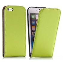 Groene Flip Case hoes iPhone 6 / 6s