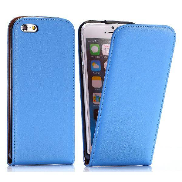 Blauwe Flip Case hoes iPhone 6 / 6s