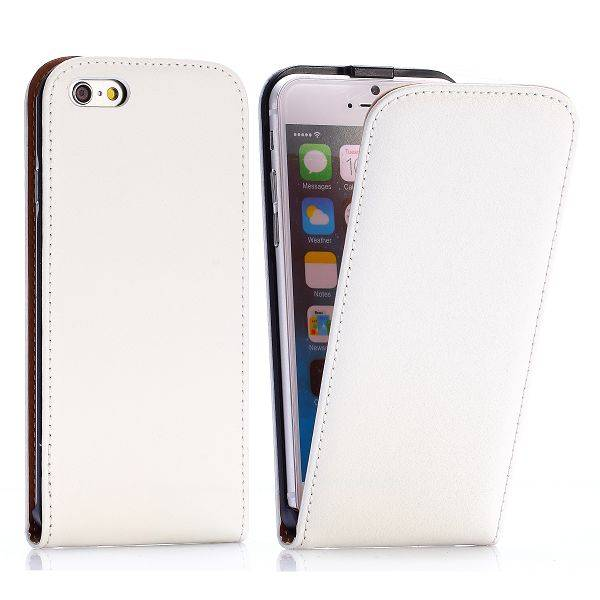 Witte Flip Case hoes iPhone 6 / 6s