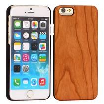 Bruin houten hoesje iPhone 6 / 6s