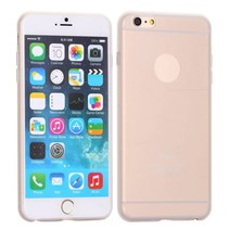 Logo transparant siliconen hoesje iPhone 6 / 6s