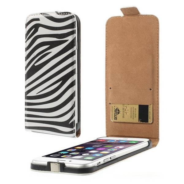 Zebra Flip Case hoes iPhone 6 / 6s