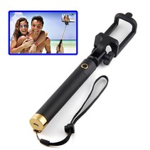 Bluetooth Wireless Selfie Stick - Goud / Zwart