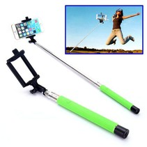 Bluetooth Wireless Selfie Stick - Groen