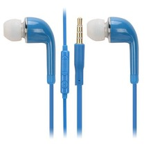 In-Ear Headset Curved - Blauw