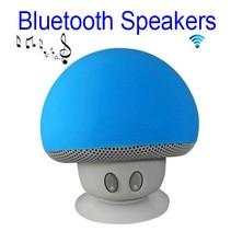 Paddenstoel Bluetooth Speaker - Blauw