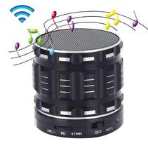 Mini Draadloze Metalen Speaker - Zwart