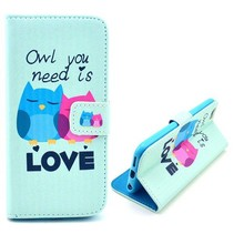 Owl you need is Love Booktype  hoes iPhone 6(s) Plus