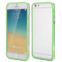 Groen / transparante bumper iPhone 6(s) Plus