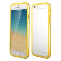Geel / transparante bumper iPhone 6(s) Plus