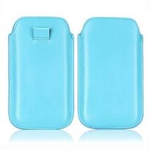 Blauwe fashion insteek hoes iPhone 6(s) Plus
