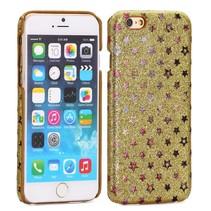 Gouden sterren hardcase hoesje iPhone 6(s) Plus