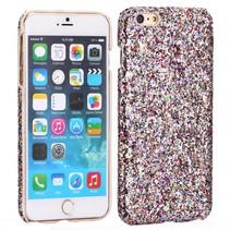 Kleurrijke glitters hardcase hoesje iPhone 6(s) Plus