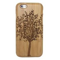 Boom houten hoesje iPhone 6(s) Plus