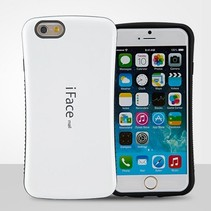 Witte hybrid hoes iPhone 6(s) Plus