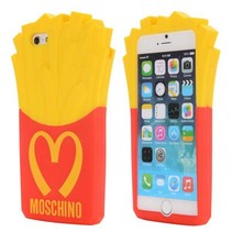 3D frietjes siliconen hoesje iPhone 6(s) Plus