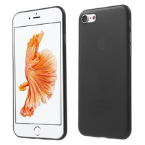 Zwart 0.3mm Hardcase Hoesje iPhone 7