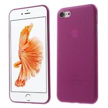 Roze 0.3mm Hardcase Hoesje iPhone 7