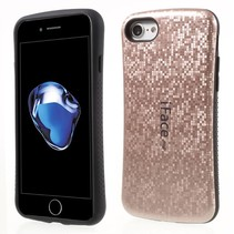 Rozegoud Mozaiek Hybrid Hoesje iPhone 7