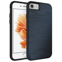 Blauw Pasjeshouder Hybrid Hoesje iPhone 7