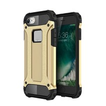 Goud Hybrid Hoesje iPhone 7