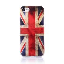Britse Vlag TPU Hoesje iPhone 7