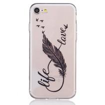 Life Love TPU Hoesje iPhone 7
