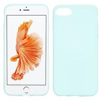 Lichtblauw TPU Hoesje iPhone 7