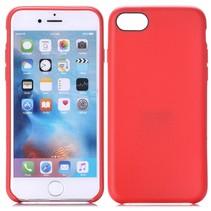 Rood Stevig TPU Hoesje iPhone 7